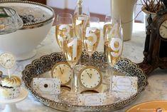 Contagem regressiva nas taças de champagne!