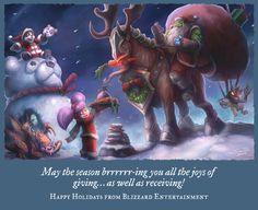 Blizzard Holiday Card 2014 by SamwiseDidier.deviantart.com on @DeviantArt