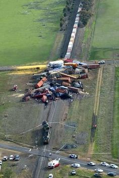 freight train crash - Google Search