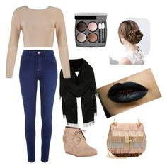 """Fall"" by amaraoffical ❤ liked on Polyvore featuring River Island, City Classified, Chloé and Chanel"