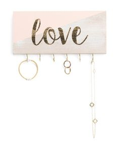 Love Wall Jewelry Organizer