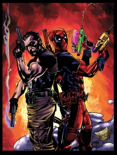 #Punisher #Fan #Art. (Punisher and Deadpoolcolors) By: BDStevens. (THE * 5 * STÅR * ÅWARD * OF: * AW YEAH, IT'S MAJOR ÅWESOMENESS!!!™) ÅÅÅ+