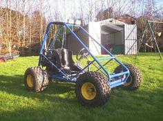 Trax II Offroad Mini Dune Buggy Sandrail Go Kart Plans on CD Disc | eBay