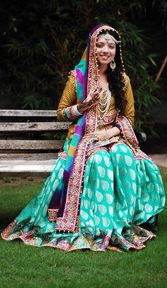 Pakistani mehni dress