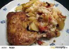 Maďarské kuře recept - TopRecepty.cz