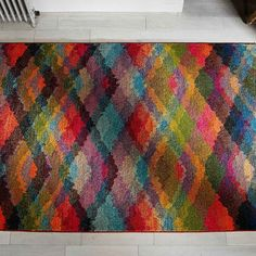 Our latest competition brings us to Pinterest. To find out how to win this Kaleidoscope rug click the link in the pin. Ends 31st July 2016 #Competition #win