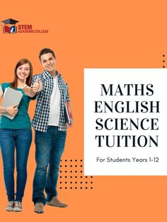 Stem Academic College is a tuition centre Cranbourne for year 1 to We offer tutoring services for Math, Science and English. Secondary School, Primary School, Melbourne High School, Do Homework, School Programs, Math Concepts, Study Materials, Mathematics, Fields