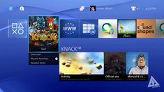 ps4 interface - Google Search