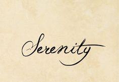 Serenity                                                                                                                                                                                 Más