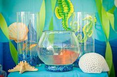 Under the Sea Water Party via Kara's Party Ideas Kara'sPartyIdeas.com #SeaCreatures #PartyIdeas #Supplies #Ocean #WaterFight #SummerPartyIdea (8)