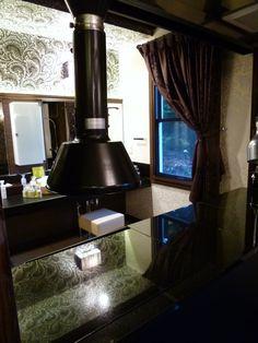 """Camera di """"La Belle Equipe"""" (Terme Hotel), Izukogen, Izu Shizuoka Japan (Settembre)"""