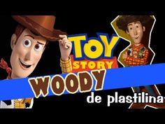 Woody - Toy Story de Plastilina - YouTube