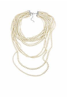Carolee Pretty Woman Nested Pearl Necklace