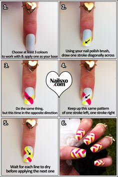 I so want to try this... as soon as I get white nail polish...