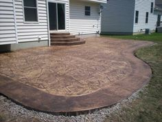 Stamped Concrete Patterns Patio   Pictures, Photos, Images