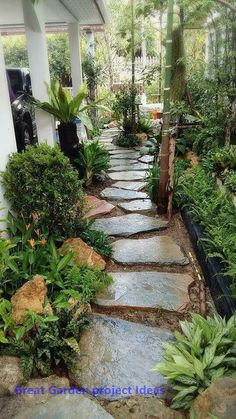 23 Interesting Backyard Garden Design Ideas And Remodel. If you are looking for Backyard Garden Design Ideas And Remodel, You come to the right place. Here are the Backyard Garden Design Ideas And Re. Small Front Yard Landscaping, Landscaping Ideas, Garden Landscaping, Small Patio, Small Yards, Patio Gardens, Landscaping Equipment, Shade Landscaping, Mailbox Landscaping