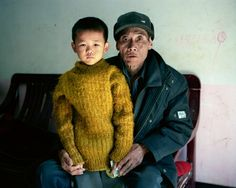 """Due to the """"Black River"""" many people have fallen ill. This grandfather suffers from cancer//Andreas Seibert - The Colors of Growth China's Huai River"""