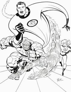 Fantastic Four by Timm