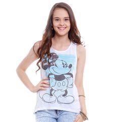 Regata nadador juvenil Turma da Disney   Blusas   De Mulher Para Mulher, Marisa