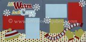 All Warm And Cozy (Boy) Scrapbook Page Kit