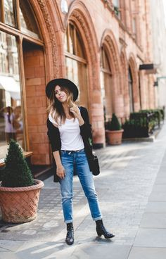 Boots and jeans