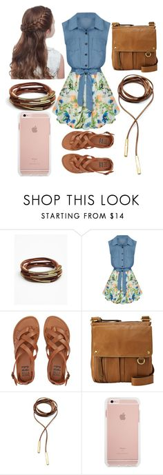 """Spring Style"" by thatunknowngirl ❤ liked on Polyvore featuring Free People, Allegra K, Billabong, FOSSIL and Child Of Wild"