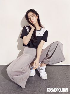 Shin Se Kyung Shows Off Her Love for PUMA in Cosmopolitan Koreai
