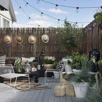 Fioriere e grigliati ad arco su terrazzo | Recinzioni - frangivista ...