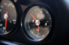 singer chronograph clock | ... production vehicle that has a Heuer chronograph mounted On The Dash