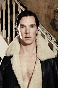 Chest hair is acceptable ONLY in the case of Benedict Cumberbatch