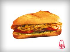 Çıtır Baget Tavuklu Sandviç