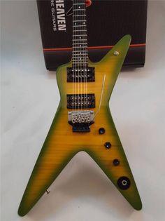 Slash Miniature Classic Sunburst Guitar Axe Heaven Guitar