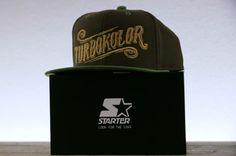 Brazowy snapback Starter x Turbokolor Lato 2013 Zajawka