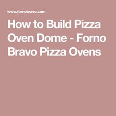 Proper brick oven insulation for our Pompeii ovens can be made from concrete or loose vermiculite. Learn about pizza oven insulation materials at Forno Bravo. Brick Oven Outdoor, Pizza Oven Outdoor, Outdoor Cooking, Wood Oven, Wood Fired Oven, Wood Fired Pizza, Build A Pizza Oven, Teaching Plan, Oven Canning