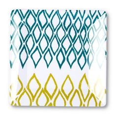 Find it at the Foundary - 10 in. Teal Melamine Dinner Plate - Set of 4