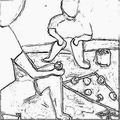 Um blog relacionado com Educação Infantil, com vários artigos, jogos, artes, brincadeiras, desenhos para imprimir, etc. Ivan Cruz, Coloring Books, Graffiti, Clip Art, Kids, Kid Art Projects, Kids Playing, Reading Room, Folk Art