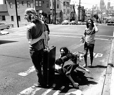 The Grateful Dead. The boys who made it all make sense to me...it doesn't make sense.  Just live.