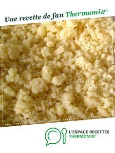 Pâte à crumble salée par oupslala25. Une recette de fan à retrouver dans la catégorie Accompagnements sur www.espace-recettes.fr, de Thermomix®.