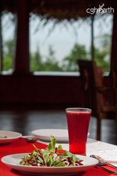 Beat the heat with a tall glass of cocum juice at #CGHEarth's #SwaSwara. Gulp down this refreshing energy drink after spending your day at the famed beaches of Gokarna.