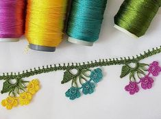 Likes, 15 Comments – 🌹tigoyasi🌹hobi🌹esineği🌹 ( … - pregnant Crochet Edging Patterns, Knitting Patterns, Hobbies And Crafts, Diy And Crafts, Hugs And Cuddles, Hand Embroidery Videos, Embroidered Clothes, Happy Colors, Crochet Flowers