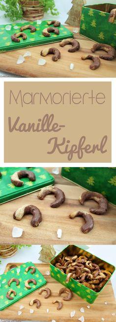 Ich habe den Klassiker ein wenig gewandelt. Herausgekommen sind leckere marmorierte Vanillekipferl, die noch dazu vegan sind. #weihnachten #advent #plätzchen #candbwithandrea #foodblog #blog #cookies #vanillekipferl #marmoriert #vegan #gesund