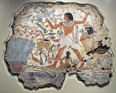 Wall scenes form the tomb of Nebamun and his wife Hatshepsut, in the Briths Museum