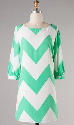 Mint chevron..not my fav but want to keep this website in mind..love some of the dresses on it hip problems website
