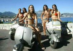 All things Lambretta & Vespa Vespa Ape, Piaggio Vespa, Lambretta Scooter, Scooter Motorcycle, Vespa Scooters, Motorbike Girl, Vespa Girl, Scooter Girl, Vespa Tuning
