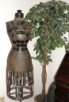 Dress Form 4 by Denise Purrington, via Flickr