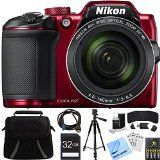 Nikon COOLPIX Optical Zoom Digital Camera Bundle includes Camera Bag Memory Card Reader Wallet Batteries Charger HDMI Cable Tripod Beach Camera Cloth and More Red >>> Click image for more details. (This is an affiliate link) Gopro, Cameras Nikon, Nikon Dslr, Best Digital Camera, Digital Cameras, Digital Wallet, Full Hd 1080p, Point And Shoot Camera, Nikon Coolpix