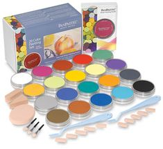 """""""PanPastel colors are made using a unique manufacturing process requiring minimal binder and fillers, resulting in a rich, ultra soft, low-dust formulation. These professional quality colors are highly pigmented and have excellent lightfastness. They are erasable and fully compatible with traditional pastel sticks, pastel surfaces, and conventional fixatives. They can be mixed, blended, layered, and applied like paint for an infinite palette of colors."""""""