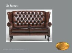 Chesterfield Showroom Sint james canapé 2 sieges
