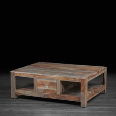 Andie Coffee Table made of Rosewood--Artemano
