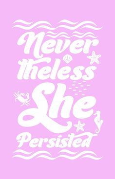Nevertheless she persisted - iPhone Case